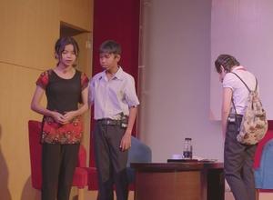 Sáng kiến Chấm dứt bạo lực trẻ em   Tiểu phẩm về Chấm dứt bạo lực thận thể trẻ em
